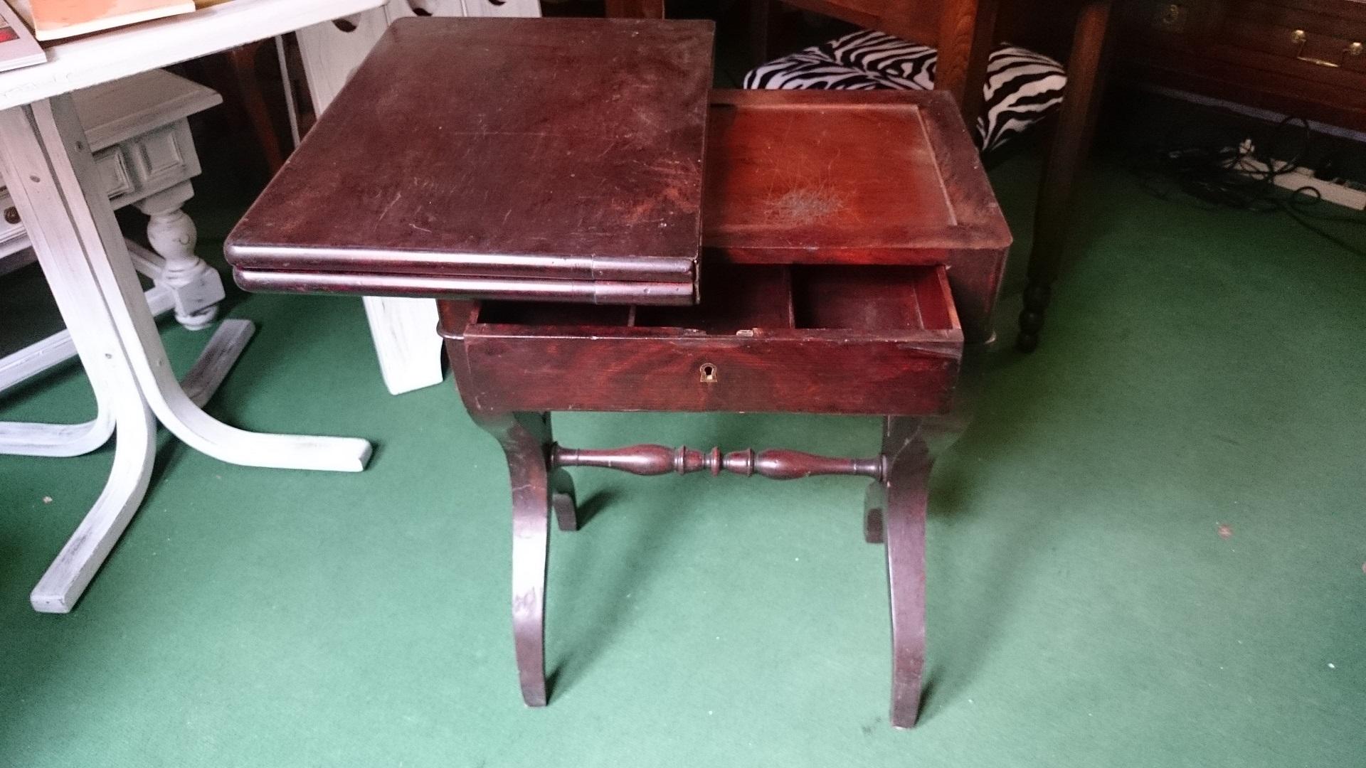 Tavolino da gioco impero restauro vendita antichit for Ebay arredamento antiquariato