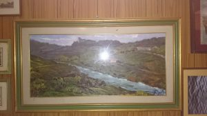 dipinto a olio Franco Sacchetti
