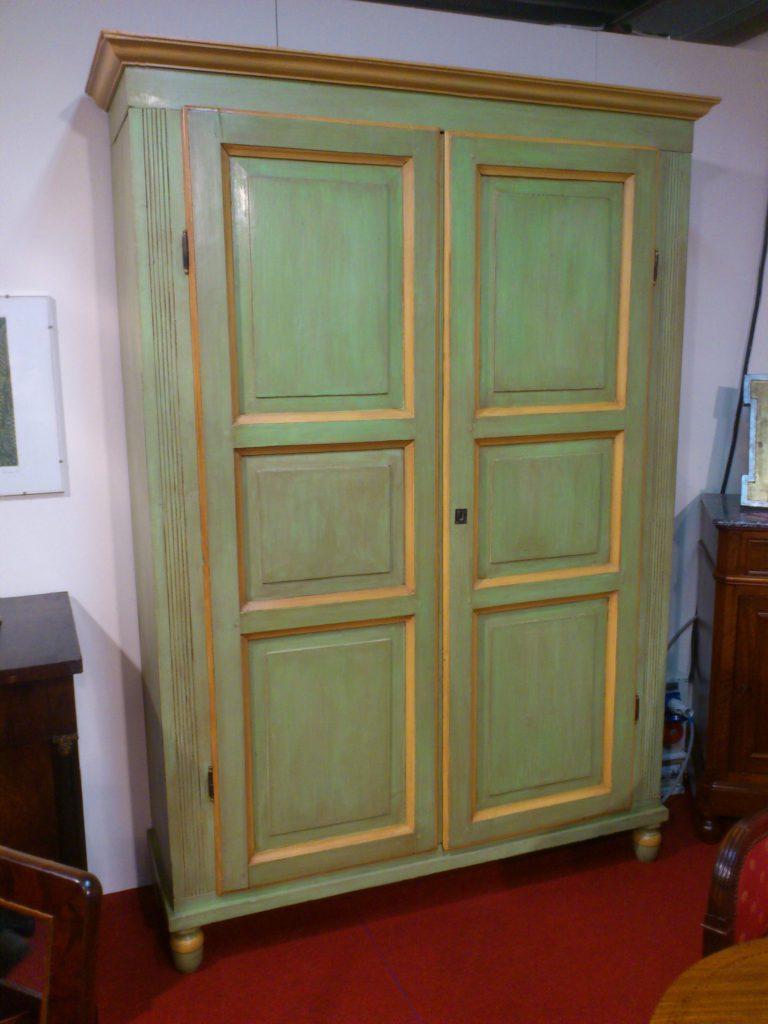 Armadio laccato impero arredamento mobili antiquariato musetti - Riconoscere mobili antichi ...