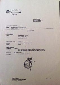 Certificato perito