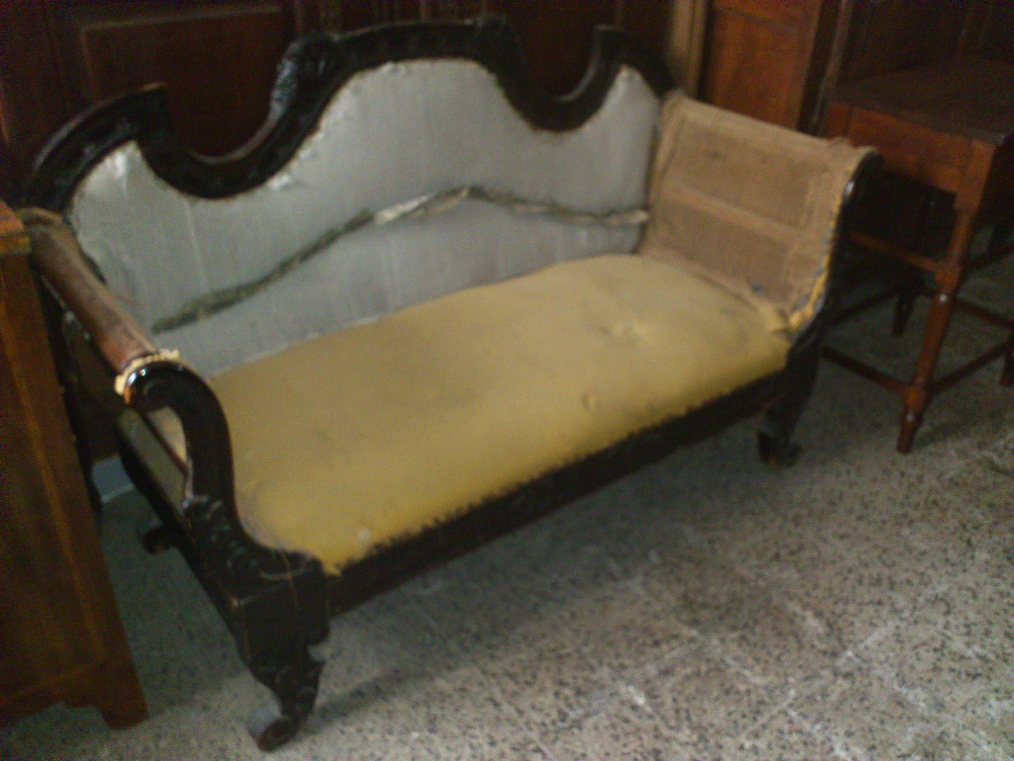 Divano luigi filippo arredamento mobili antiquariato musetti - Divano luigi filippo ...
