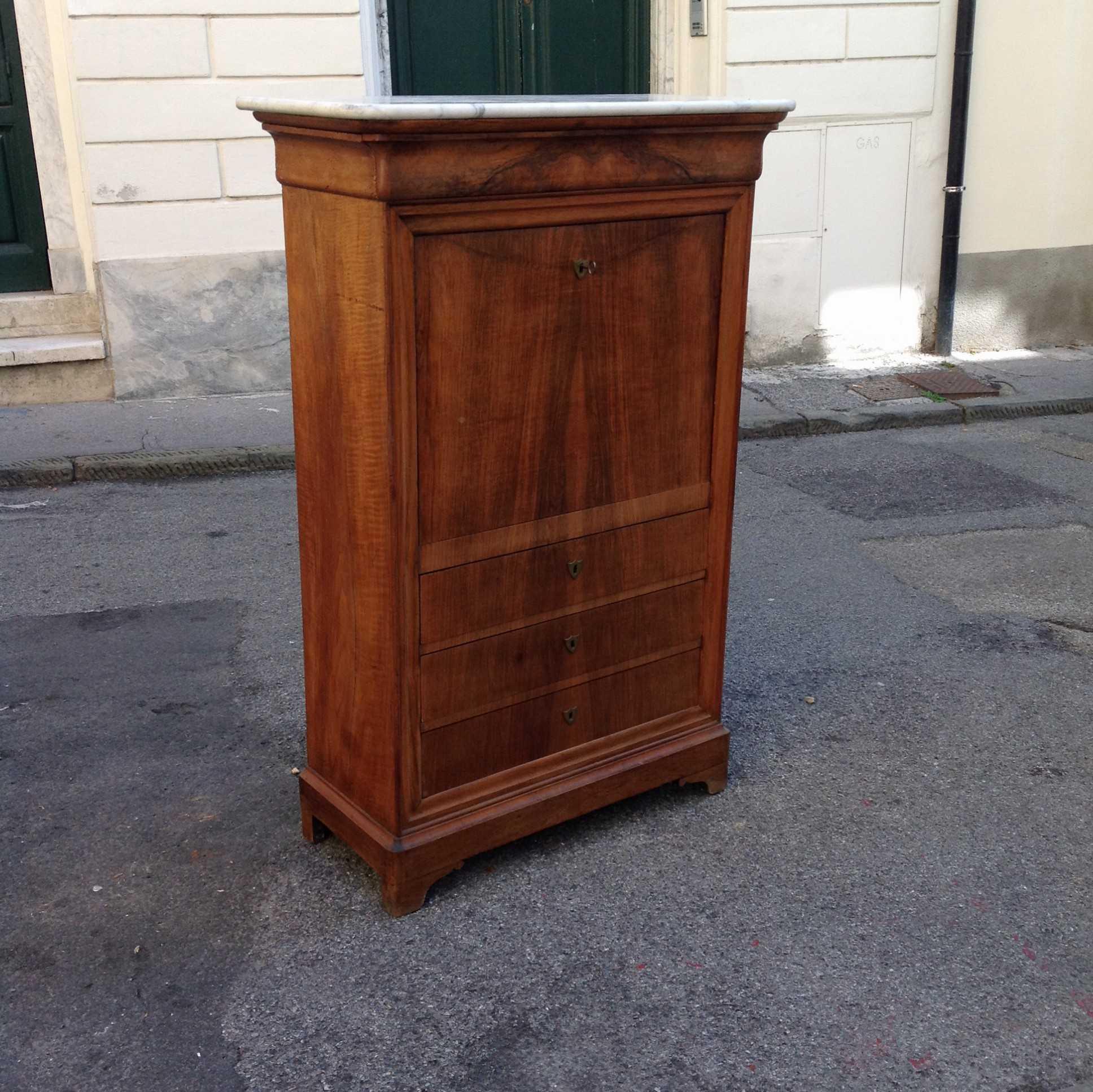 Secretaire cappuccino arredamento mobili antiquariato for Mobili antichi vendita