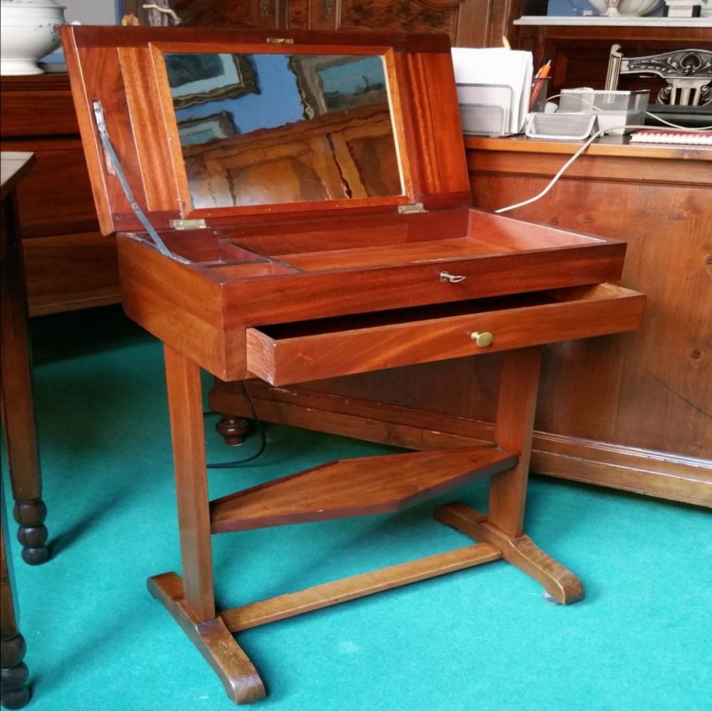 Tavolino da lavoro impero arredamento mobili for Ebay arredamento antiquariato