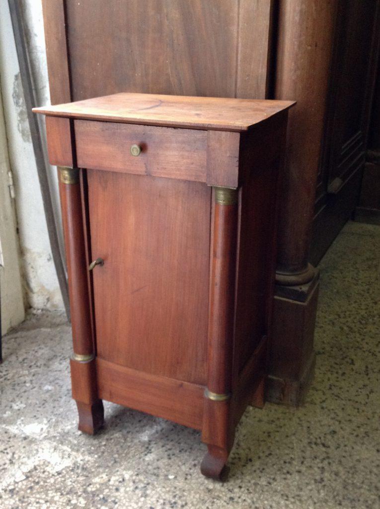 Comodino impero arredamento mobili antiquariato musetti - Riconoscere mobili antichi ...