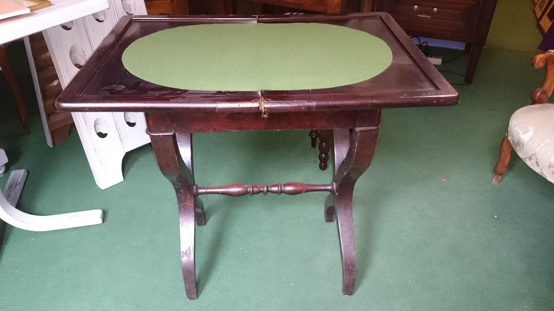 Tavolino da gioco impero arredamento mobili antiquariato for Gioco di arredamento