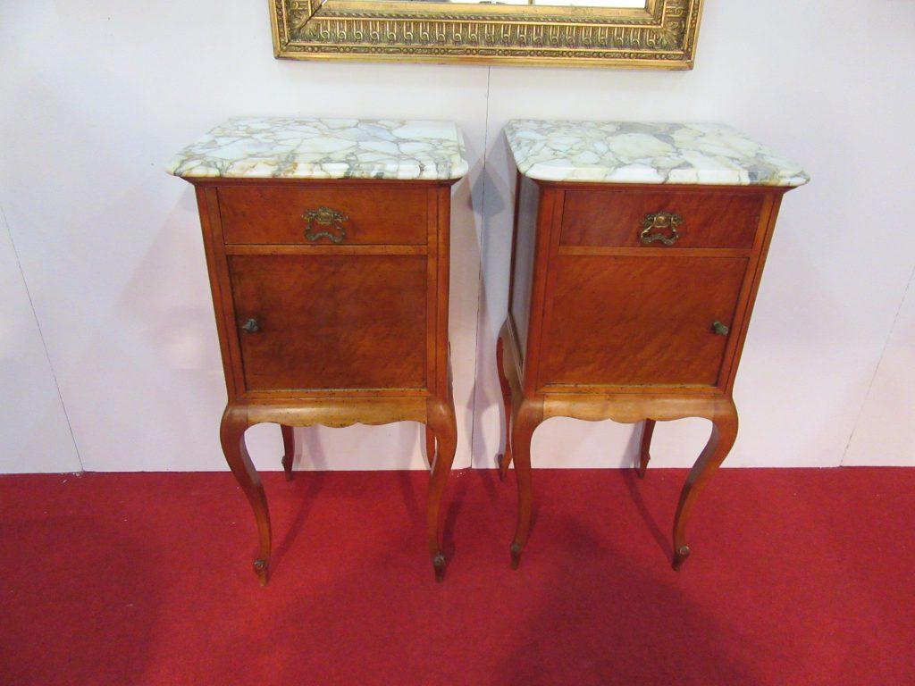Coppia comodini arredamento mobili antiquariato musetti for Ebay arredamento antiquariato