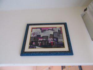 Carlo Massimo Franchi olio su tela 30 x 40