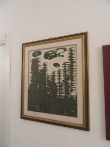 Giovanni Montevago , (1929-2014), olio su tela 60 x 40